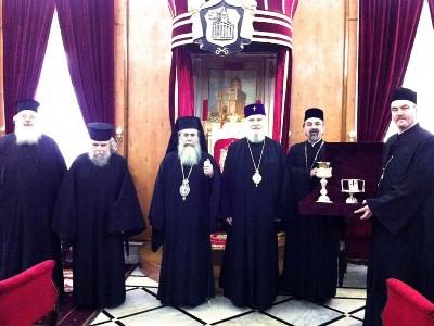 Восстановлено евхаристическое общение между Иерусалимской и Румынской Православными Церквами